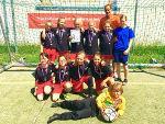Lindenschülerinnen beim Landesfinale Fußball in Rostock