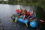 Floßbau als teambildendes Projekt