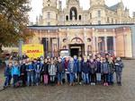 Zu Besuch im Landtag, die Klassen 4a und 4b